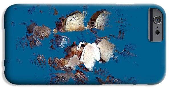 Alga iPhone Cases - Sea Shore 2 iPhone Case by Svetlana Nilova
