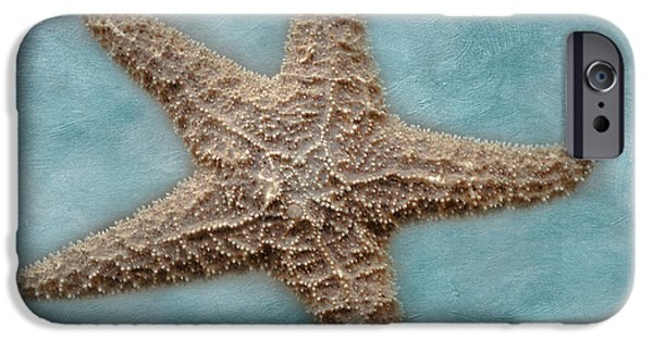 Animals Photographs iPhone Cases - Sea Star iPhone Case by David and Carol Kelly