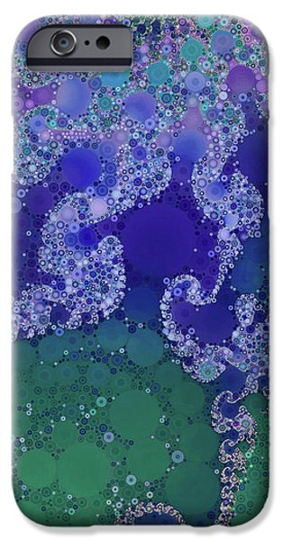 Colorful Abstract iPhone Cases - Sea Star iPhone Case by Susan Maxwell Schmidt