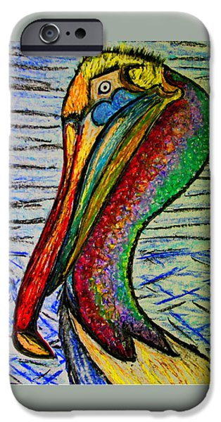 Consumerproduct iPhone Cases - Seabirds iPhone Case by W Gilroy