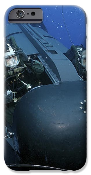 Seal Delivery Vehicle Team Members iPhone Case by Stocktrek Images