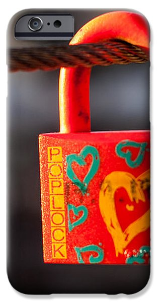 Sealed Love iPhone Case by Davorin Mance