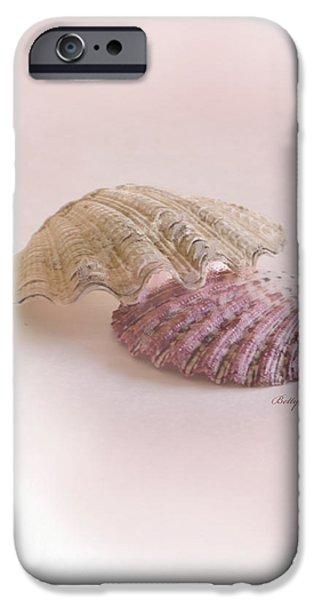Seashell Love iPhone Case by Betty LaRue
