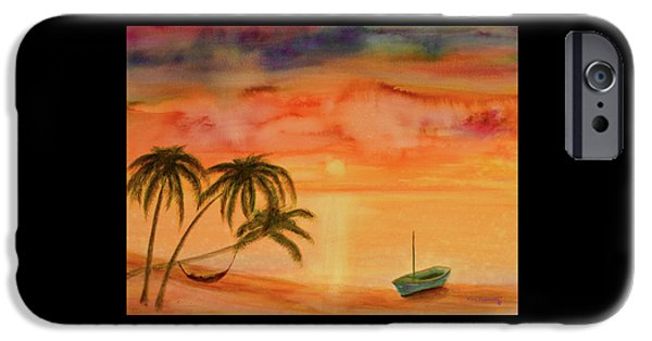 Sailboats iPhone Cases - Seaside Bliss iPhone Case by Ken Figurski