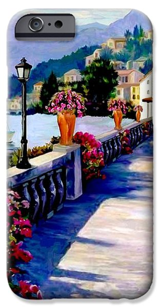 Seaside Pathway iPhone Case by Ronald Chambers