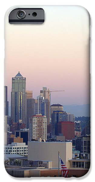 Seattle iPhone Case by Larry Keahey