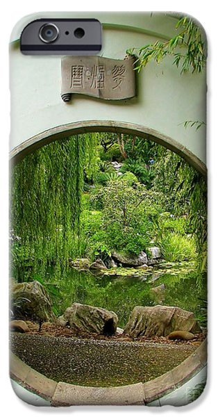 Willow Lake iPhone Cases - Secret Garden iPhone Case by Michele Penner