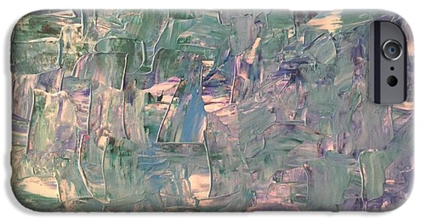 Abstract Expressionism iPhone Cases - Sedation 101 iPhone Case by Edward Paul