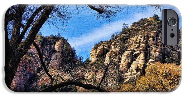 Oak Creek iPhone Cases - Sedona Arizona II iPhone Case by Jon Berghoff