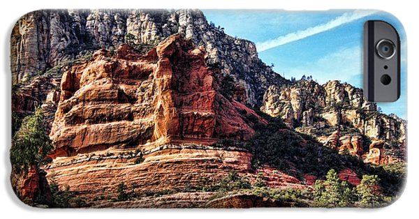 Oak Creek iPhone Cases - Sedona Arizona III iPhone Case by Jon Berghoff