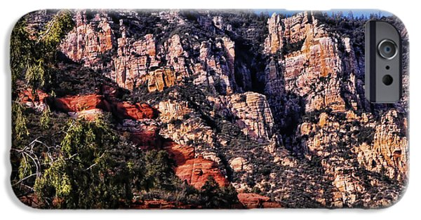 Oak Creek iPhone Cases - Sedona Arizona IV iPhone Case by Jon Berghoff