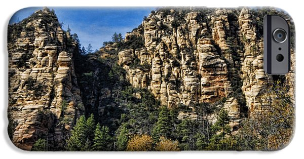 Oak Creek iPhone Cases - Sedona Arizona iPhone Case by Jon Berghoff