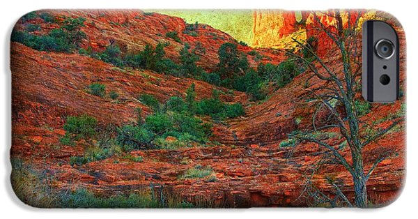 Cathedral Rock iPhone Cases - Sedona iPhone Case by Kris Hiemstra