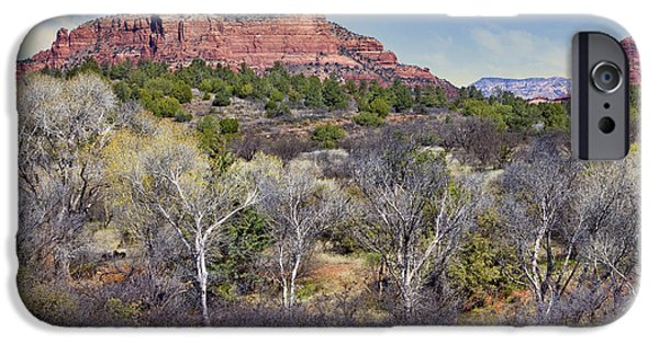 Sedona iPhone Cases - Sedona Landscape #2 - Arizona iPhone Case by Nikolyn McDonald