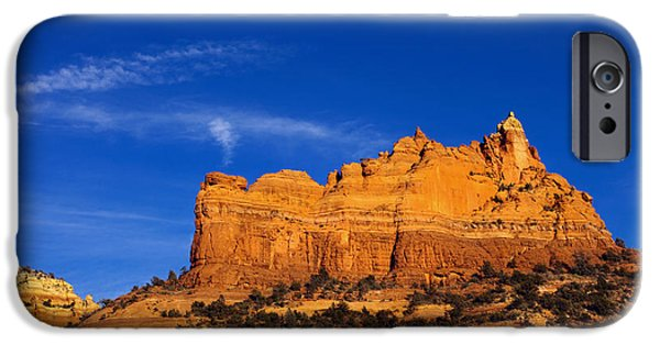 Sedona iPhone Cases - Sedona Smoke Signals iPhone Case by Mike  Dawson