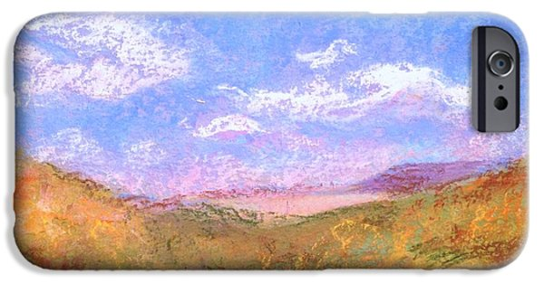Sedona Pastels iPhone Cases - Sedona View iPhone Case by Bethany Bryant