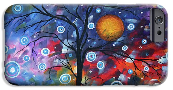 Purple Prints iPhone Cases - See the Beauty iPhone Case by Megan Duncanson