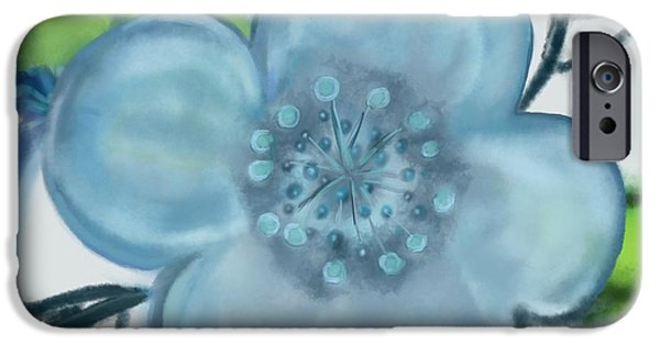 Pastel iPhone Cases - See through SQ iPhone Case by Christine Fournier