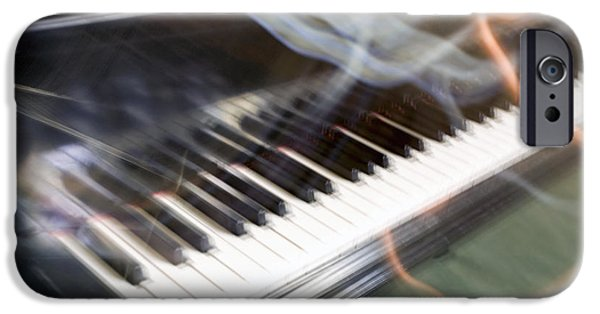 Piano iPhone Cases - See What I Hear iPhone Case by Glennis Siverson