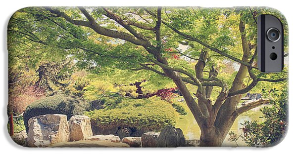 Japanese Garden iPhone Cases - Seeking Truth iPhone Case by Laurie Search