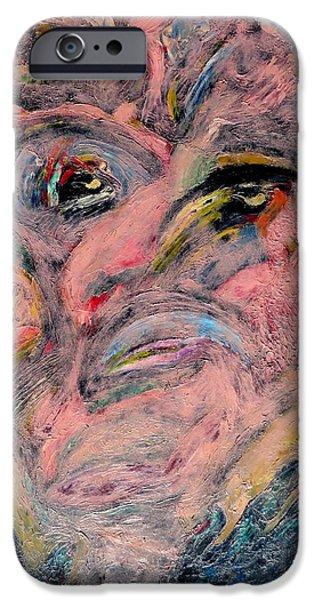 Painter Photographs iPhone Cases - Self Portrait 1987 iPhone Case by Daniel Gomez