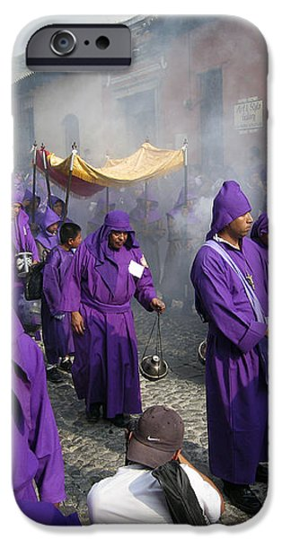 Semana Santa Procession IV iPhone Case by Kurt Van Wagner