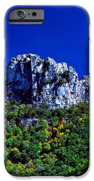 Seneca Rocks National Recreational Area iPhone Case by Thomas R Fletcher