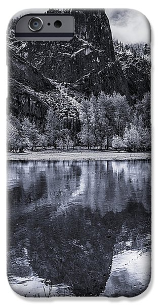 Reflection In Water iPhone Cases - Sentinel Rock iPhone Case by Bill Roberts