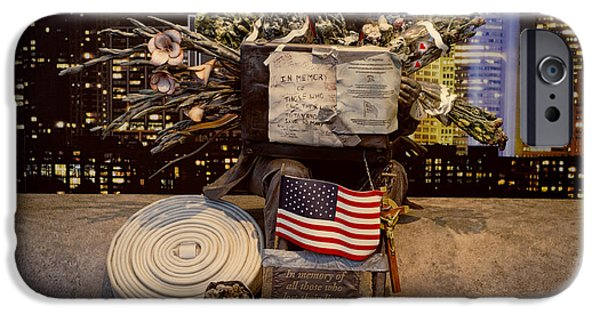 Makeshift iPhone Cases - September 11 Memorial iPhone Case by Terry Weaver