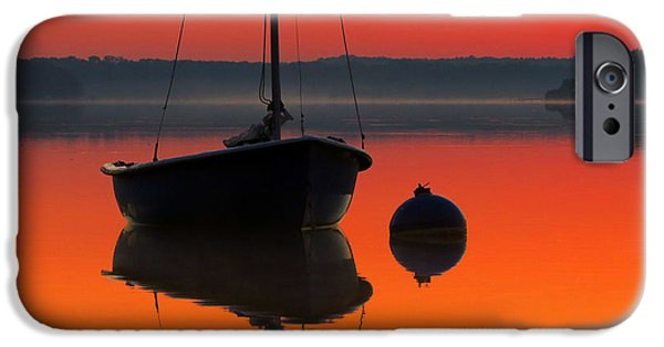 Mist iPhone Cases - September Dreams iPhone Case by Dianne Cowen