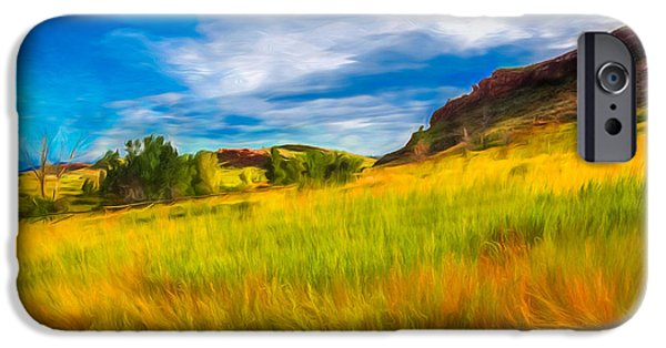 Ft Collins iPhone Cases - September Morn iPhone Case by Jon Burch Photography