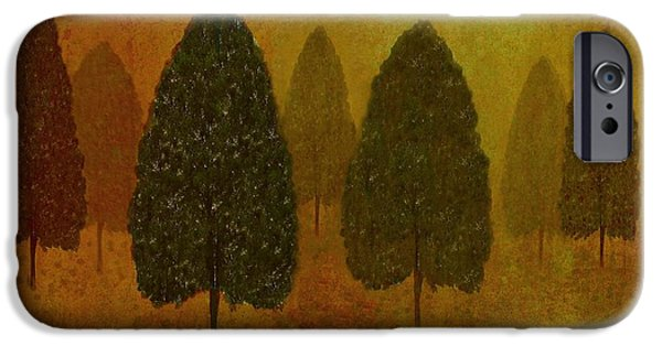 Business iPhone Cases - September Trees  iPhone Case by David Dehner