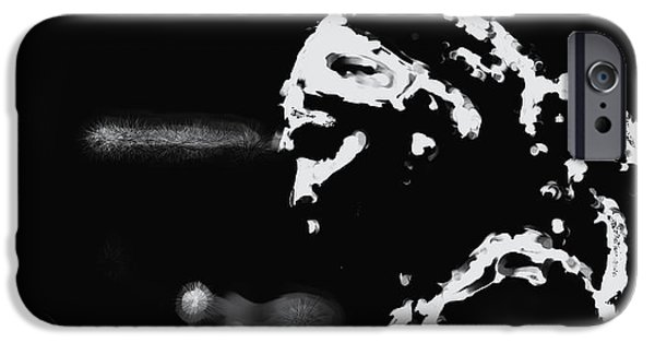 Wta iPhone Cases - Serena Williams 022 iPhone Case by Brian Reaves
