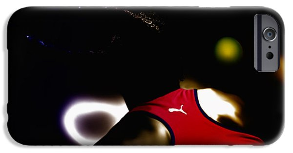 Wta iPhone Cases - Serena Williams Doing It iPhone Case by Brian Reaves