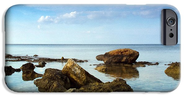Sea iPhone Cases - Serene iPhone Case by Stylianos Kleanthous