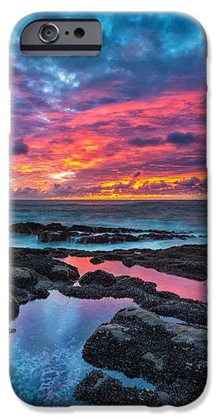 Serene Sunset iPhone Case by Robert Bynum