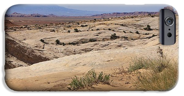 Slickrock iPhone Cases - Utah Serenity iPhone Case by Tonya Hance
