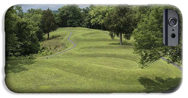 Mounds iPhone Cases - Serpent Mound iPhone Case by Johnnie Nicholson