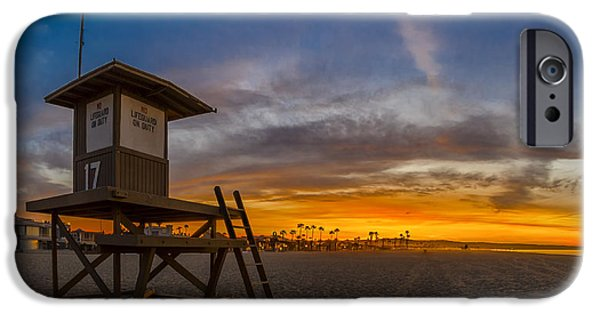 Newport Photographs iPhone Cases - Seventeen Youre Clear for Takeoff iPhone Case by Sean Foster