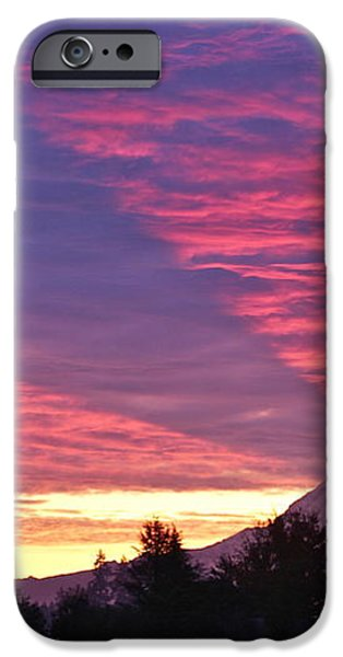 Shadow of Mount Rainier iPhone Case by Sean Griffin