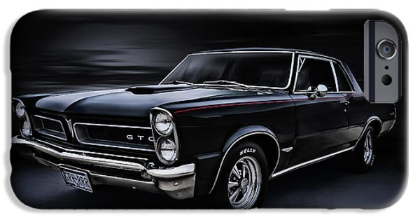 Automotive iPhone Cases - Shadow Rider iPhone Case by Douglas Pittman