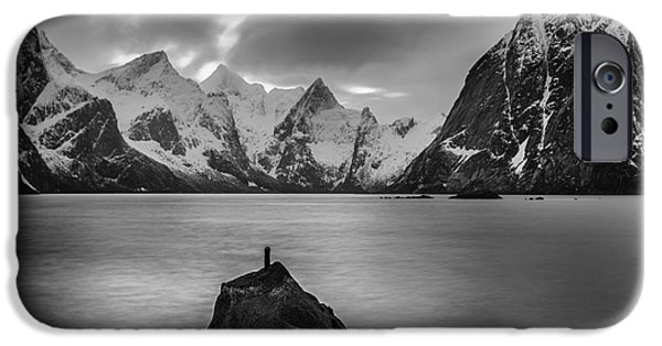 Norway iPhone Cases - Shadows in the Night  iPhone Case by Pawel Klarecki