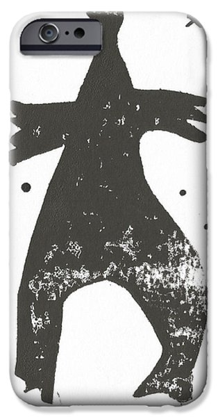 Outsider iPhone Cases - SHADOWS No. 2  iPhone Case by Mark M  Mellon