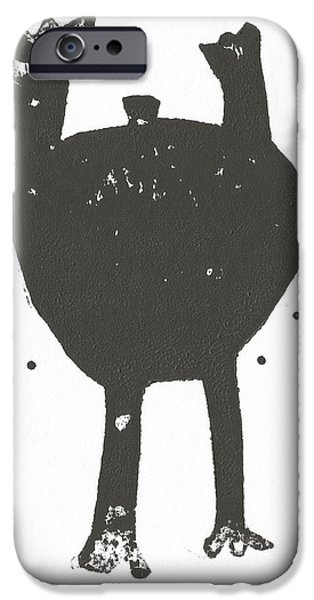 Outsider iPhone Cases - Shadows No. 3  iPhone Case by Mark M  Mellon