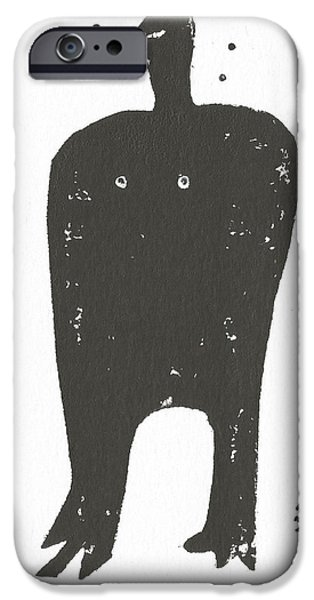 Outsider iPhone Cases - SHADOWS No. 6  iPhone Case by Mark M  Mellon