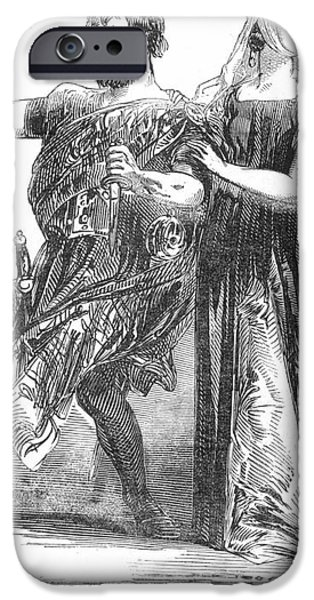 SHAKESPEARE: MACBETH, 1845 iPhone Case by Granger