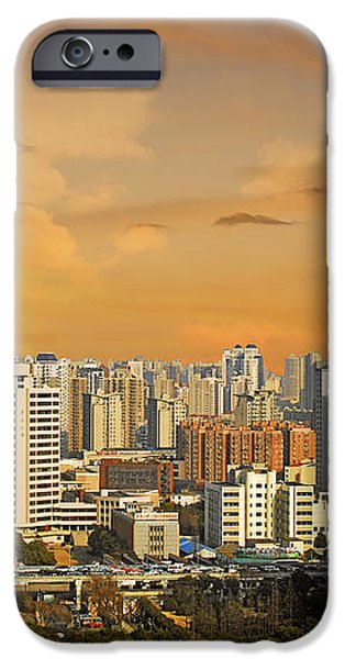Shanghai - Paris of the East iPhone Case by Christine Till