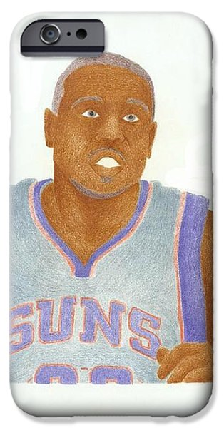 Shannon Brown iPhone Case by Toni Jaso