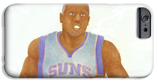 Dunk iPhone Cases - Shannon Brown iPhone Case by Toni Jaso