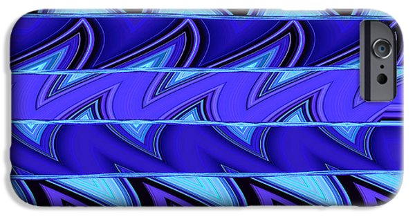 Ann Johndro-collins iPhone Cases - Shark Fins iPhone Case by Ann Johndro-Collins